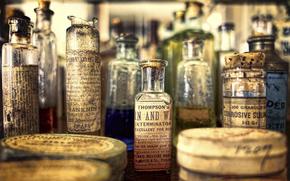 bell, museum, pharmacy, Vintage