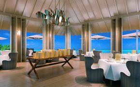 设计, 室内, 风格, 旅馆, 餐厅