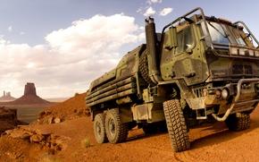 camion, Altri macchinari e attrezzature, deserto