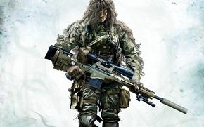 武器, 狙击兵, 伪装