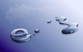 acqua, cadere, spot, Macro, mondiale, mappa