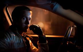 macchina, salone, attore, Ryan Gosling, Unità, Regno Unito, pellicola, del cinema