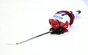 Евгений Владимирович Малкин, Хоккей с шайбой, Спорт, Россия