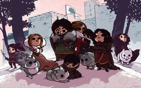 John Snow, Game of Thrones, Direwolf