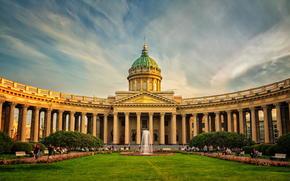 Kazan Cathedral, spb, Leningrad, Peter, petersburg