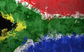 STRUTTURA, Sudafrica, bandiera