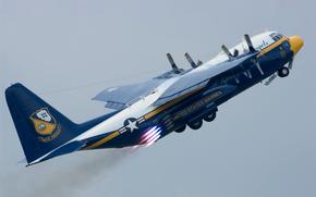 США, ВВС, авиационная, военно, высшего, группа, полет., дальности, средней, пилотажа, самолет, создана, транспортный, большой