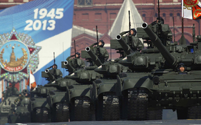 Victory Day, Red Square, Tanks, holiday