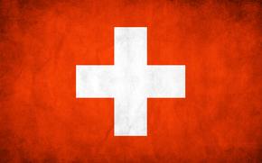 швейцария, флаг, текстуры