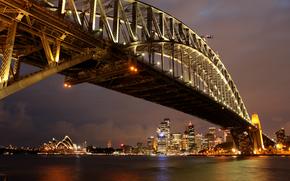 Sydney, porto, ponte