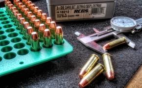 calibrador, fundo, caixa, bloco, munição