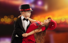 couple, dance, girl, love, Valentine, childhood, boy, baby, romance