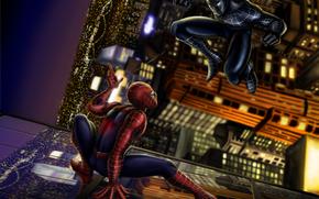 spiderman, Monsters, 3d, art
