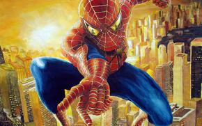 Spiderman, 3d, arte