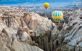 deserto, Palloncini, Rocce, canyon
