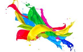 Paint, spray, drops