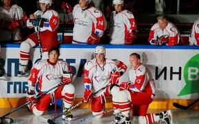 Hockey, charity match