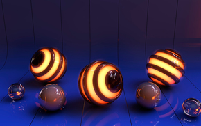 bending, glow, ball, graphics, reflections, area, glare, Rendering, SURFACE, reflection, line