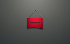 rouge, Supremo, logo