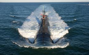 """sottomarino nucleare multiuso, """"Virginia"""", US Navy, Quarta Generazione, Oceano Atlantico"""