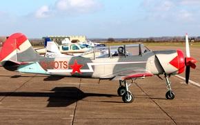 аэродром, советский, спортивно-тренировочный, самолёт