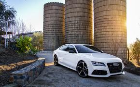 ауди, Audi, белая