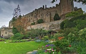 Warwick castle, графство Уорикшир в центральной Англии, на берегу реки Эйвон