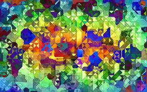 абстракции, цвет, картины