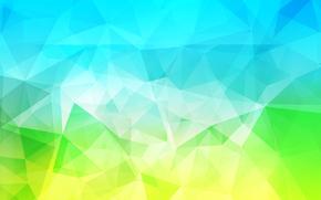 chiaro, COLORE, triangolo, linea, volume