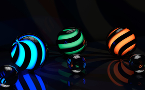 glow, SURFACE, backlight, reflections, spiral, reflections, area, graphics, PATTERNS, Rendering, reflection, ball, bends, line