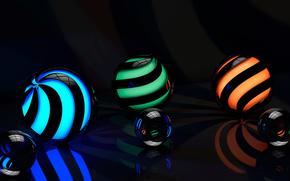 brillo, SUPERFICIE, retroiluminación, reflexiones, espiral, reflexiones, área, gráficos, PATRONES, Rendering, reflexión, bola, curvas, línea
