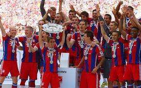piłka nożna, Bayern Monachium, Mistrz Niemiec 2014