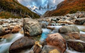 fiume, Minerario, corso, pietre