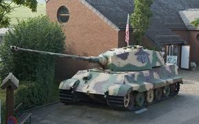 танк, немецкий, Бельгия, Вторая мировая война, «Короле́вский тигр», Ла-Глезе, тяжёлый, военный музей