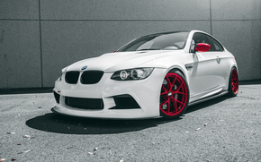Car, Front, white, BMW, avtooboi, boomer, BMW