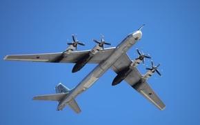 россия, бомбардировщик, ввс, дальняя авиация, медведь