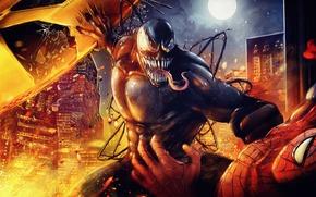 Веном, Человек паук