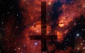 крест, перевернутый