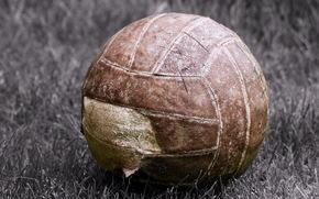 спорт, макро, мяч