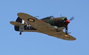 single-engine, collection, times, mixed, plane, Private, retro., SAS, WWII, developed, design, monoplane, fighter, Australia
