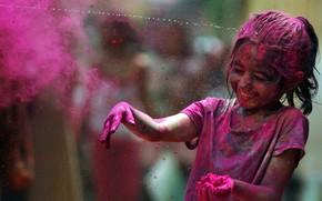 радость, фестиваль красок, радуга