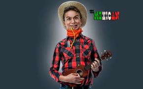 Mexican, humor, musician