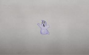 минимализм, привидение, призрак