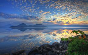 Хоккайдо, озеро Тоя, Япония