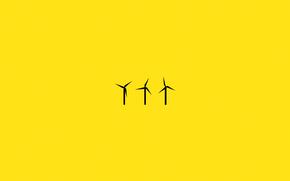 мельница, электрогенератор, ветер