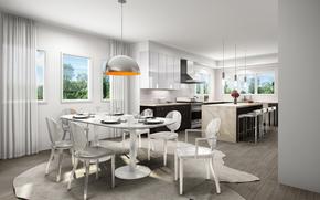 stile, progettazione, interno, stanza, cucina