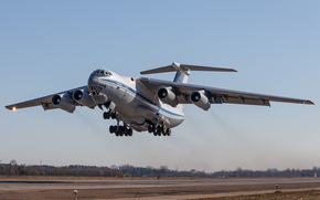Military Sealift, plane, heavy, Russian, airfield