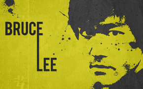 Bruce Lee, maestro, leyenda, actor, fondo