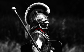 helmet, legionnaire, centurion, man, armor, background, Rome