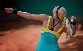 Lena-Marie Hofmann, German tennis player, racket